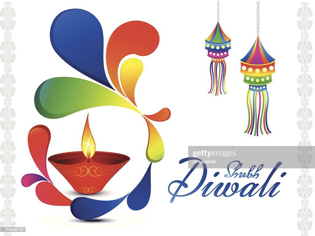 Abstract Diwali Wallpaper