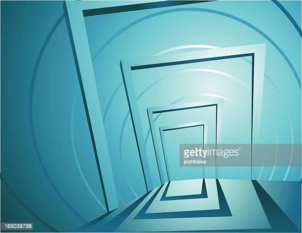 abstract doorways - high key stock illustrations, clip art, cartoons, & icons