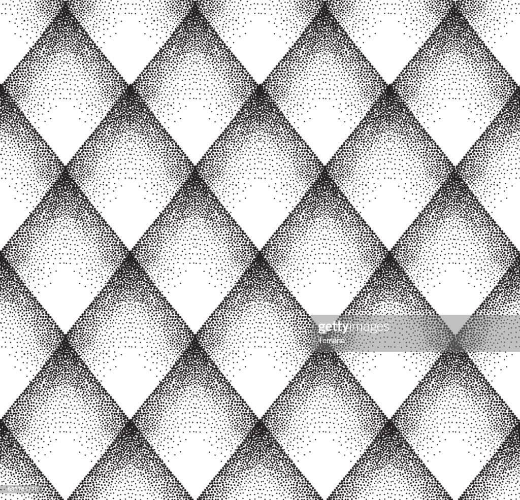 Abstract dot pattern. Spotted linear ornamental texture. Geometr