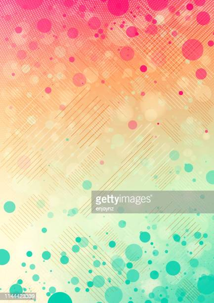abstract dots background - pink background stock illustrations, clip art, cartoons, & icons