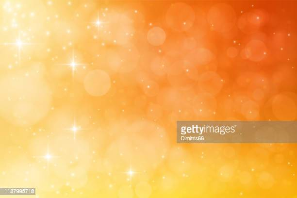 abstract dreamy vector background - orange color stock illustrations