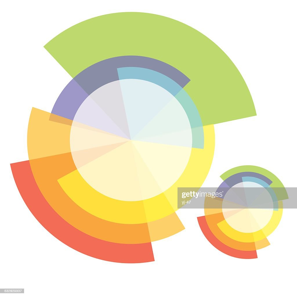 Abstract elements. Vector samples.