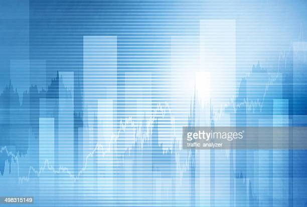 Abstract finance background