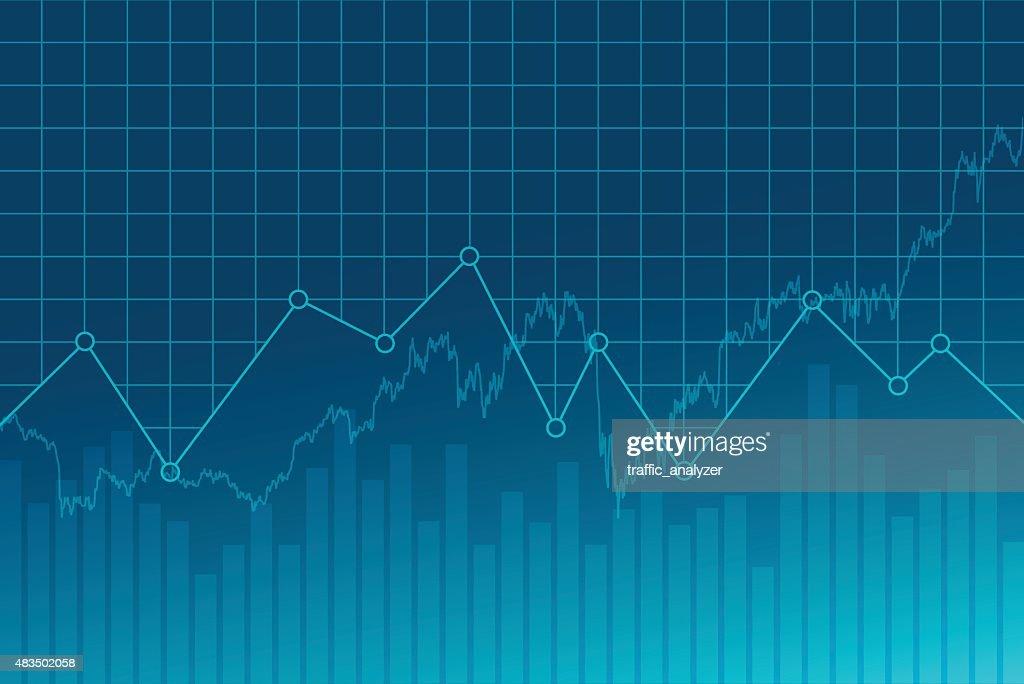 Financieros abstractos fondo : Ilustración de stock