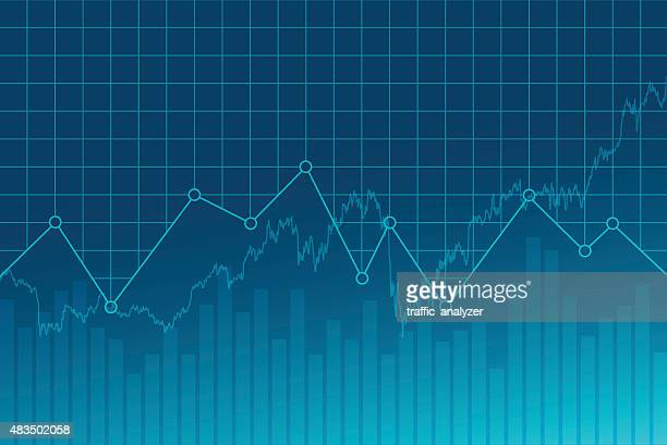 abstract financial background - instrument of measurement stock illustrations