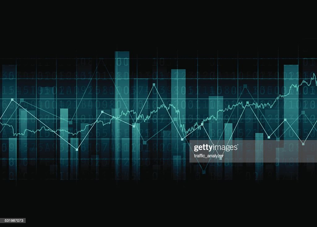 Abstract financial background : stock illustration