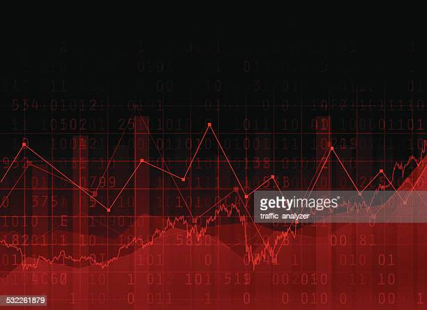 abstract financial background - frequency stock illustrations