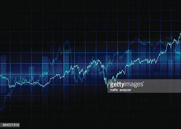 abstract financial background - moving up stock illustrations