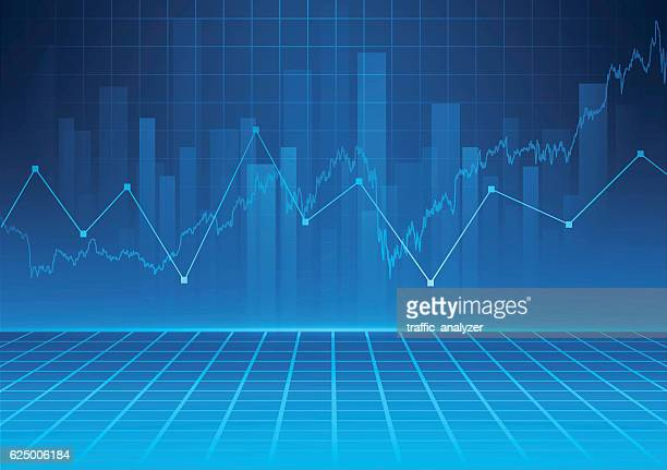 abstract financial background - finance and economy stock illustrations