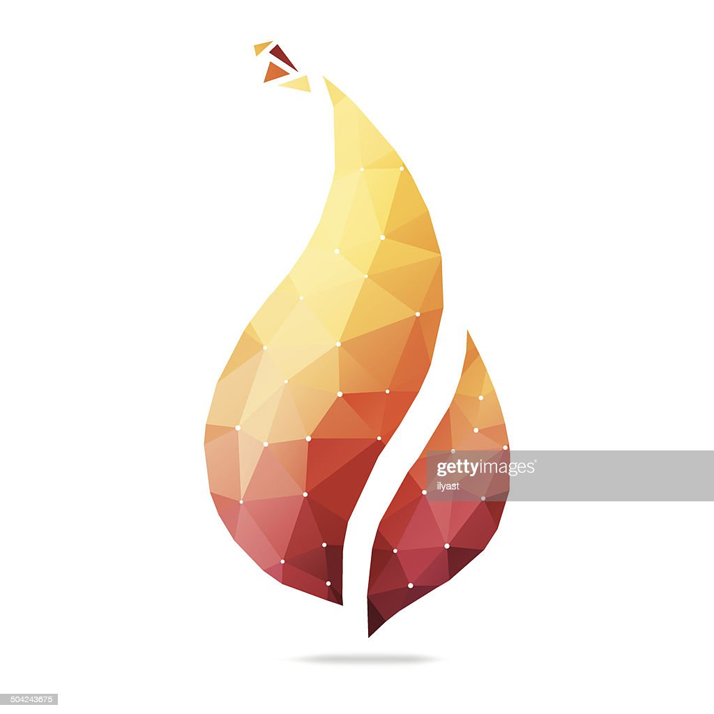 Abstract Flame : stock illustration