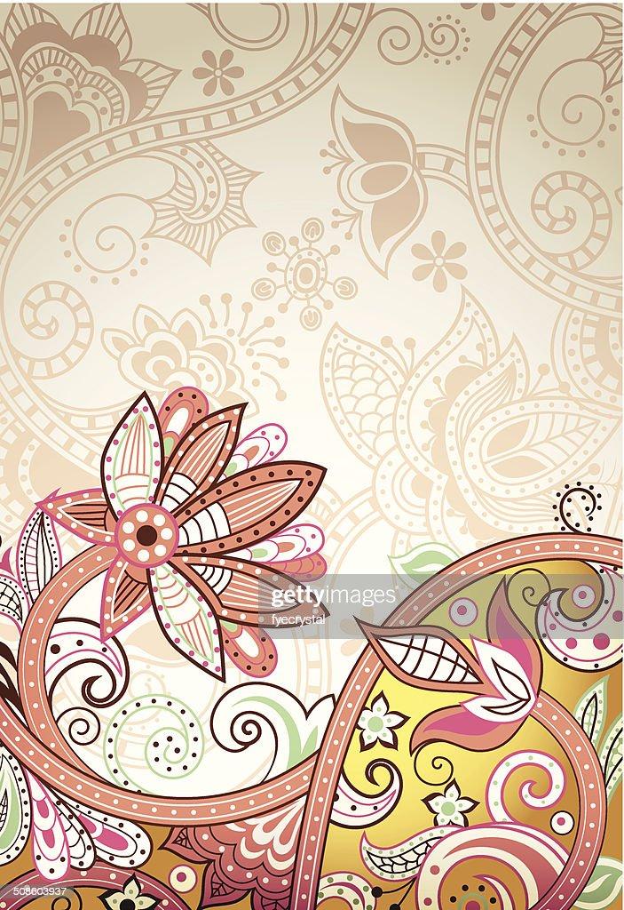 Abstrato Floral : Arte vetorial