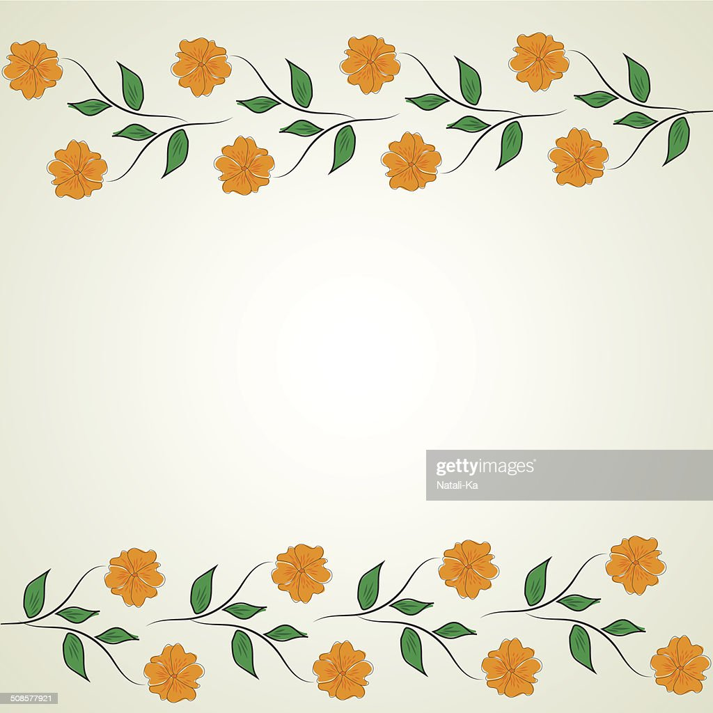 Abstract flower pattern : Vector Art