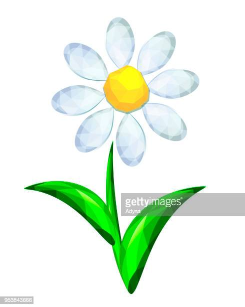 abstract flower - innocence stock illustrations
