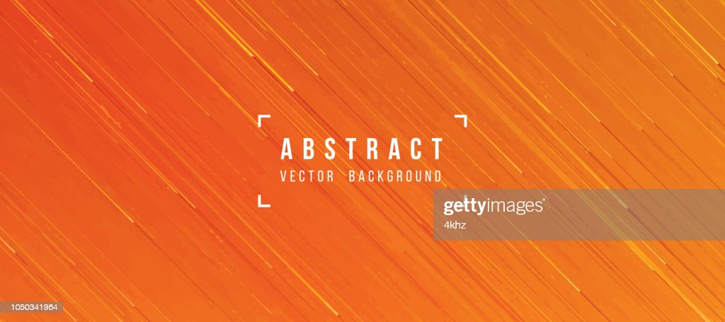 Abstract Flowing Lava Texture Orange Yellow Background : Stock Illustration