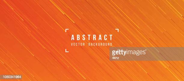 abstract flowing lava texture orange yellow background - orange color stock illustrations