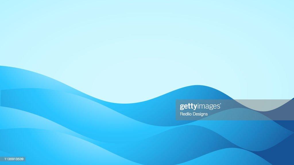 Sfondo fluido e onda astratto : Illustrazione stock