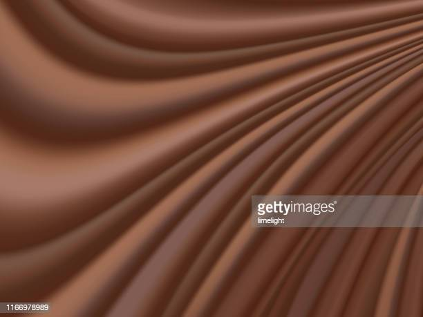 ilustrações, clipart, desenhos animados e ícones de fundo fluido abstrato do chocolate - molho de chocolate