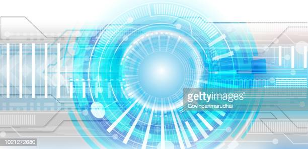 Abstract future technology concept background