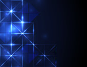 Abstract futuristic grid background