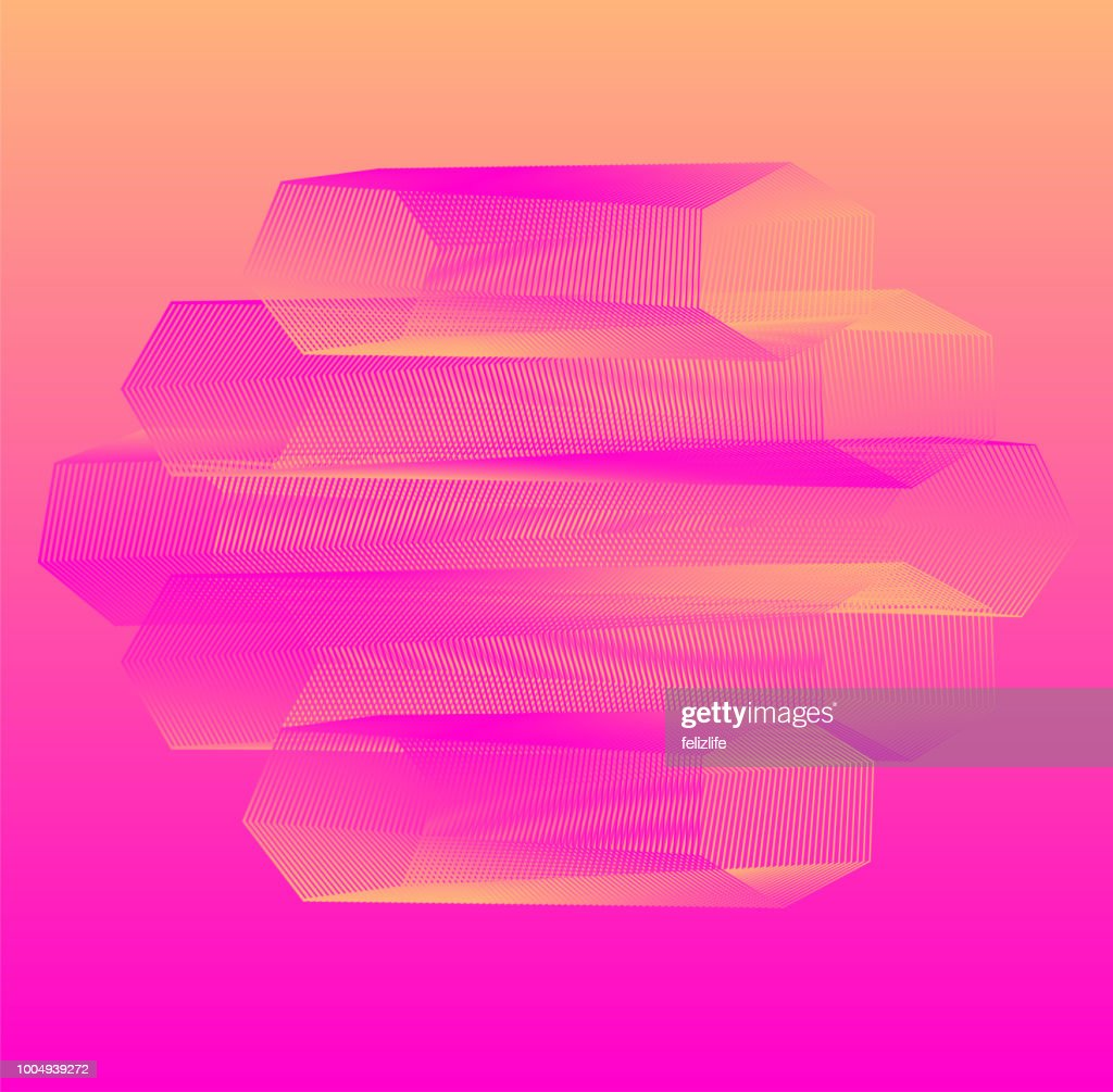 Abstract Futuristic Wallpaper Creative Colorful Background
