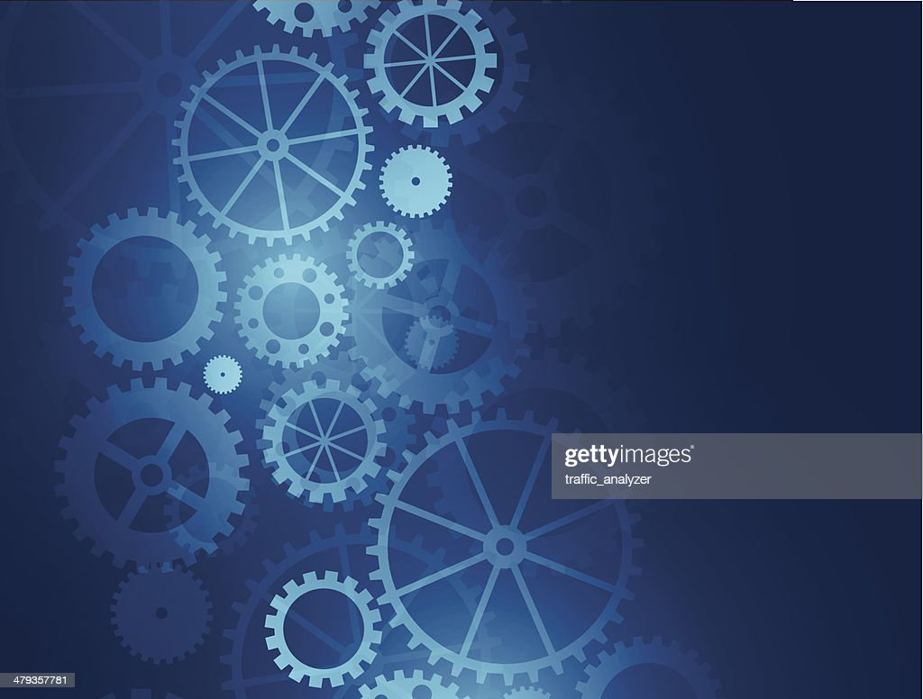 Abstract gears background : stock illustration