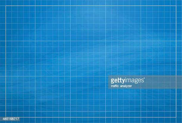 abstract gears background - blueprint stock illustrations