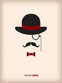 Abstract gentleman