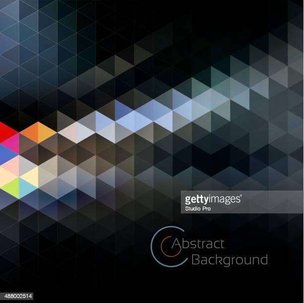Abstract geo background