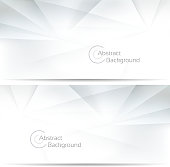 Abstract geo banners
