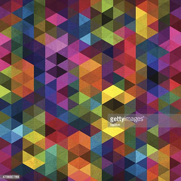 abstract geometric background - mosaic stock illustrations