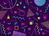 Abstract geometric background with colorful geometric shapes. Vector geometric grahic.
