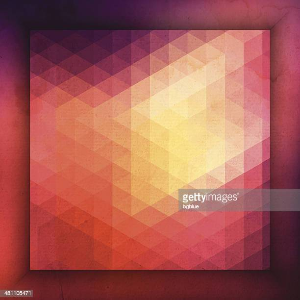 Abstract geometric Background with frame
