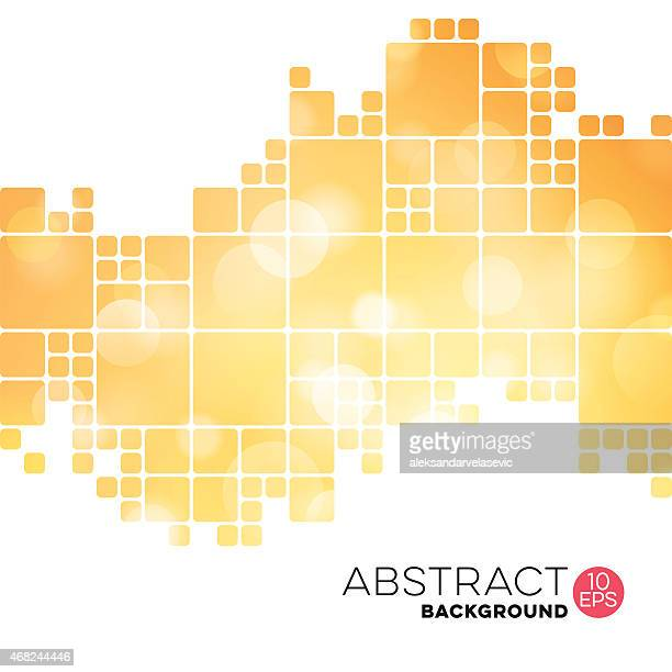 Abstract Geometric Defocused Background