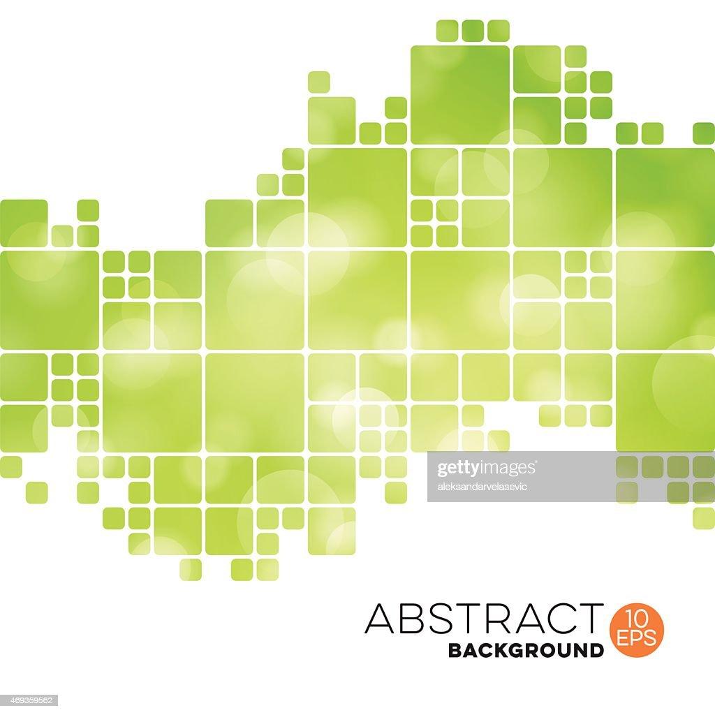 Abstract Geometric Defocused Background