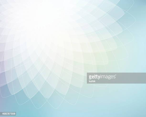Abstract geometric ellipses background
