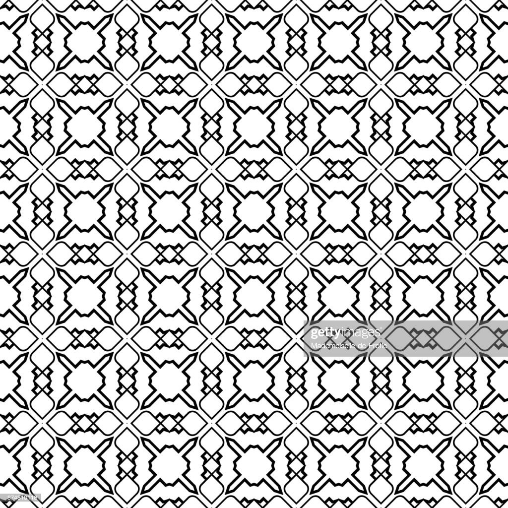 Abstract Geometric Hipster Fashion Design Print Seamless Pattern For