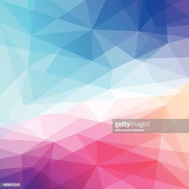 Abstrakte Geometrische Low Poly-Hintergrund