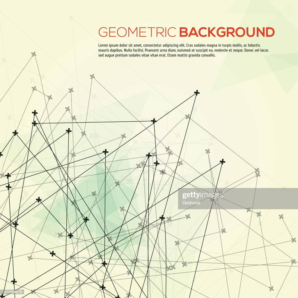 Abstract geometric modern background