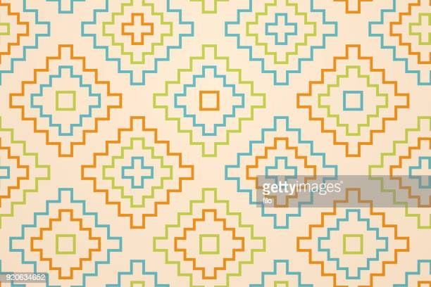 abstract geometric seamless background - lutin stock illustrations