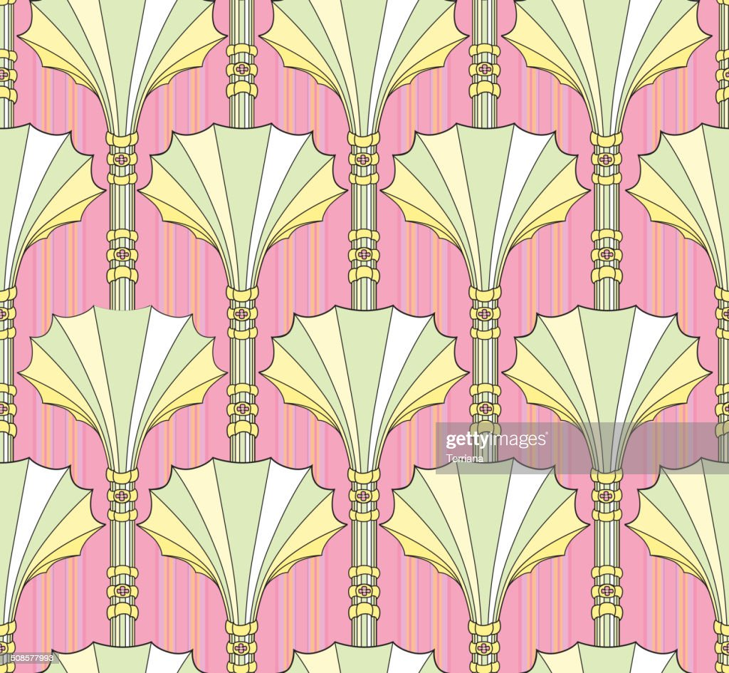 Abstract Geometric Semless pattern : Vector Art