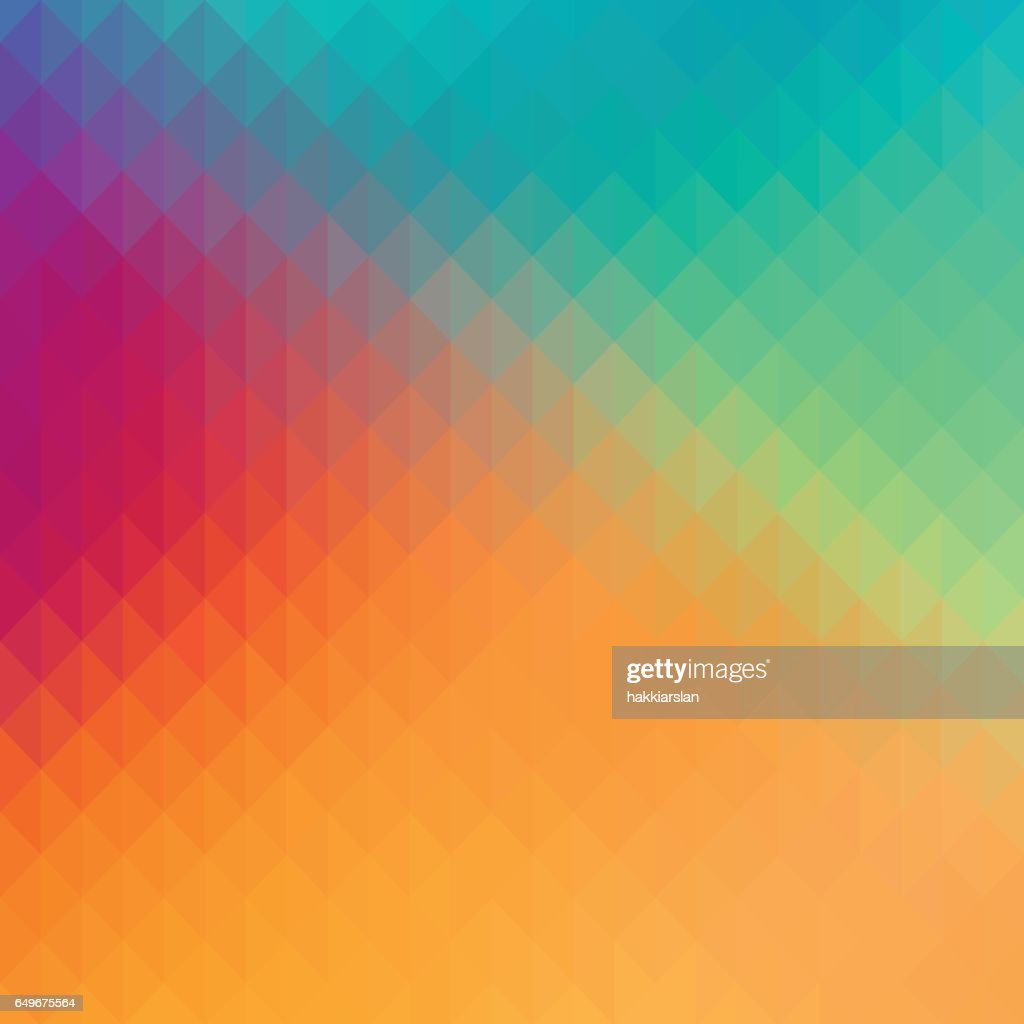 Abstract geometric shapes background with pastel colors.