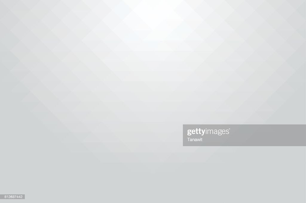 Abstract geometric style white background