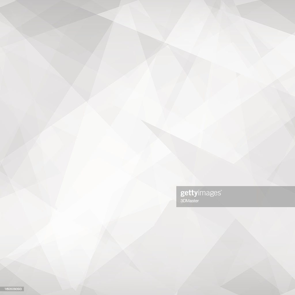 Abstract geometric vector background in various gray tones