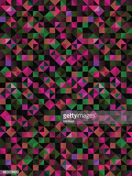 Abstrakte Geometrische Nahtlose Muster