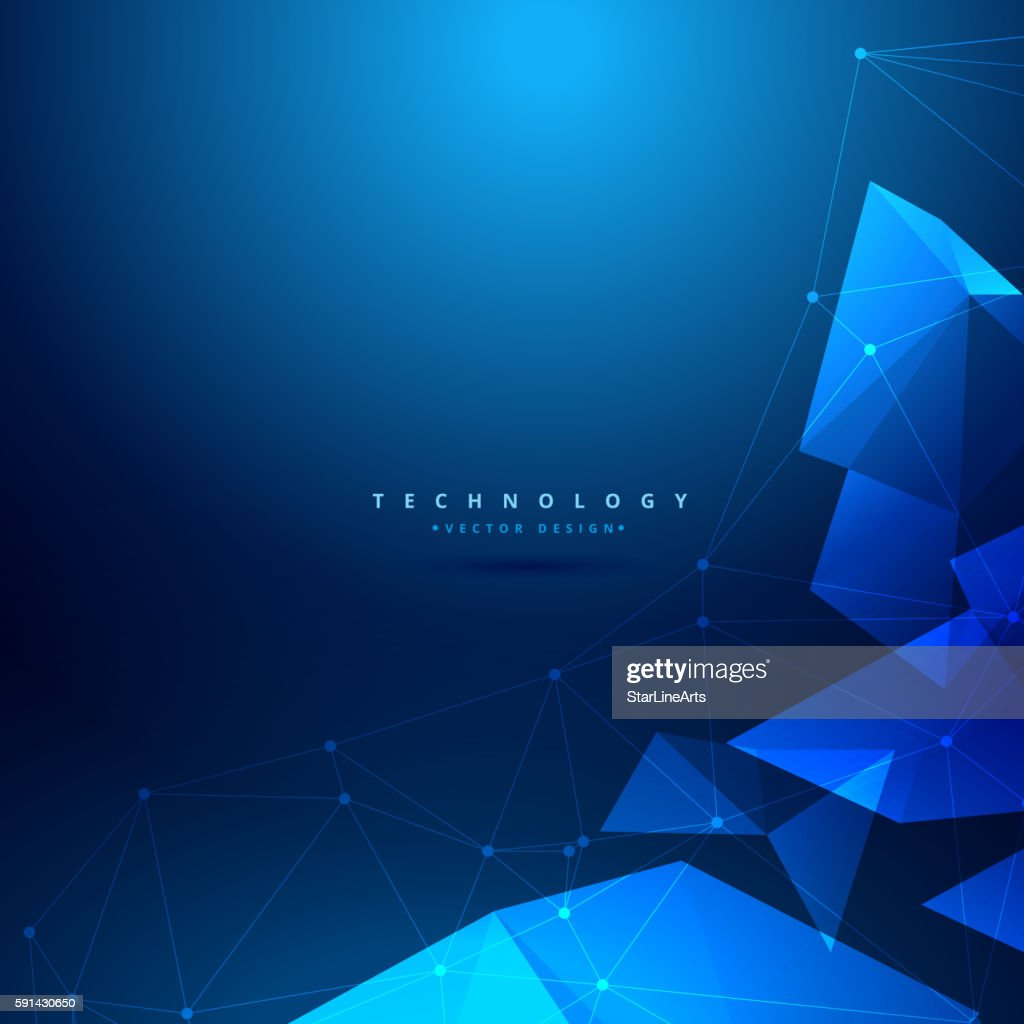 abstract geometrical technology background