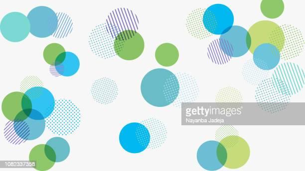 illustrazioni stock, clip art, cartoni animati e icone di tendenza di abstract geometry pattern background for design - cerchio