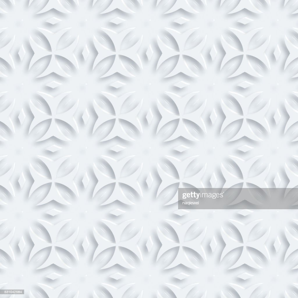 3D abstract geometry pattern background