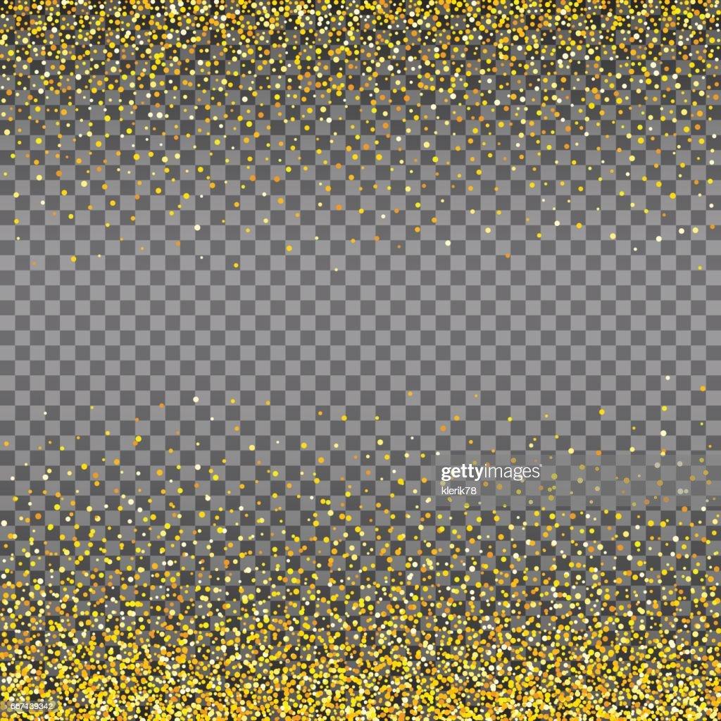 Abstract gold glitter splatter background for the card, invitation, brochure, banner, web design