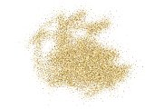 Abstract gold glitter splatter background