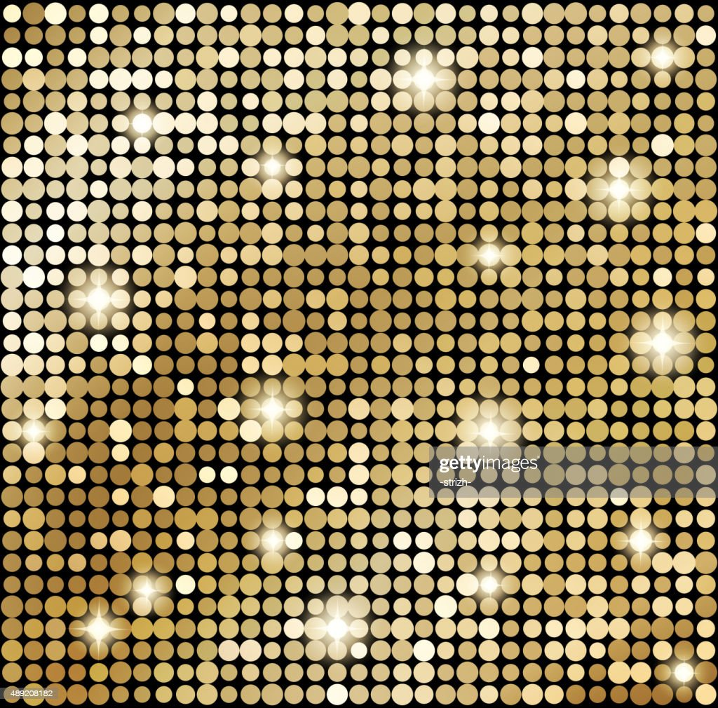 Abstract gold mosaic background